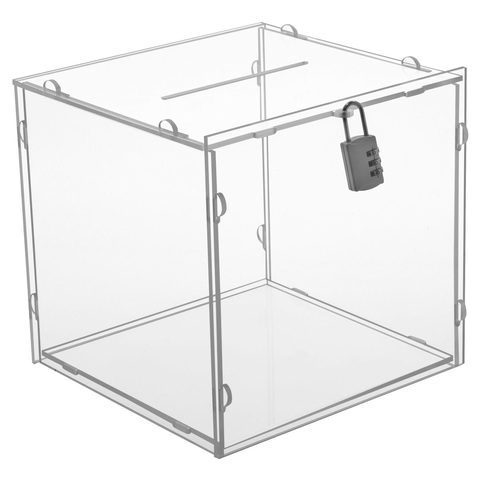 Skládací puzzle box na dary, losy a vizitky - malý