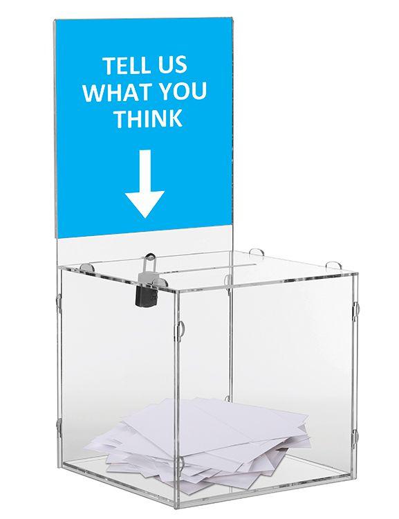 Skládací puzzle box s panelem na losy a vizitky - malý