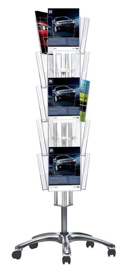 Třístranná základna pro uchycení 15 kapes - Stříbrná A-Z Reklama CZ