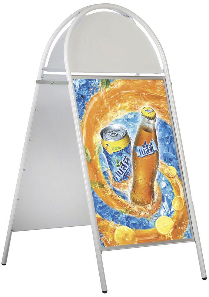 Stojan Áčko Magnetic Iron A Board - A1 - Bílé