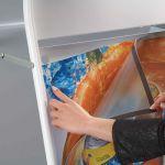 Stojan Áčko Magnetic Iron A Board - A1 - Černé A-Z Reklama CZ